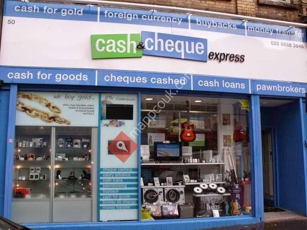 Cash & Cheque Express Croydon