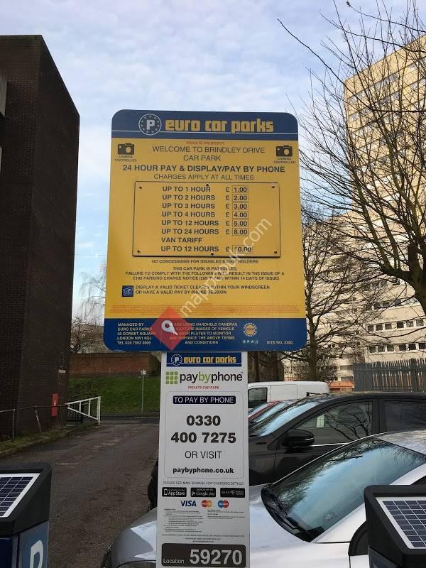 Euro Car Parks Brindley Drive Birmingham